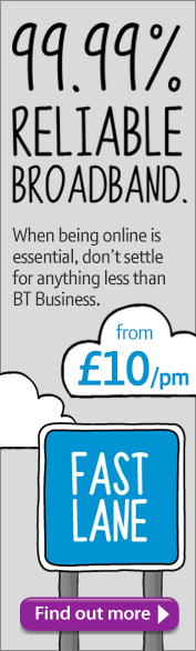 BT Business Total Broadband banner