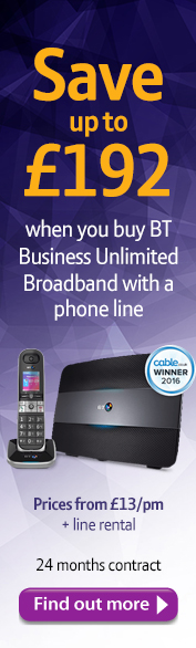 DMSL BT Business Broadband Save Banner